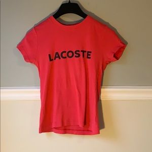 Old school Lacoste T-shirt
